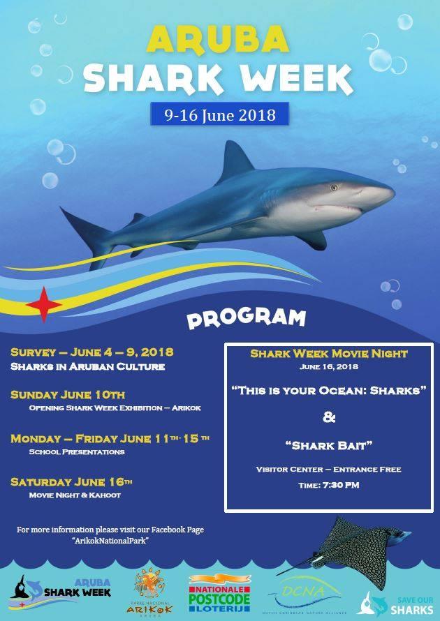 378dc026f Upcoming Events – Aruba Shark Week – Save our Sharks NL